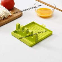 Soporte de utensilios de cocina de restos de cuchara de silicona para cocina