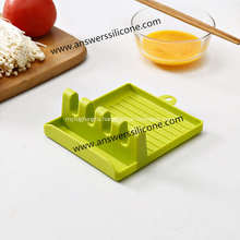 Silicone Spoon Rests Cooking Utensils Holder for Kitchen