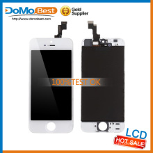 Hot selling no dead line, no dots screen touch for iphone 5s lcd