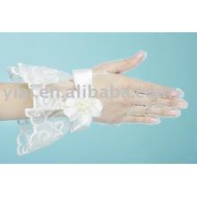 2013 guante nupcial con los dedos longitud de la muñeca 005