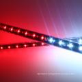 rain meteor 3d vertical 360 degree RGB LED DMX pixel tube for Club disco bar
