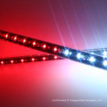 3D RVB accrochant a mené la lumière verticale de tube de pixel pour le club, la disco, la barre