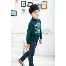 Karen Autumn Gradient Color Eagle Cool Boys Sweater