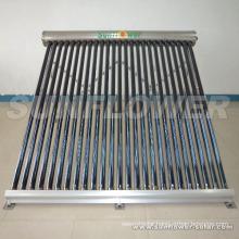 Heat pump Thermostat vacuum solar collector Factory