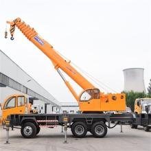 Europe style for for Crawler Crane STSQ20D 20 ton hydraulic mobile crane supply to Libya Manufacturers