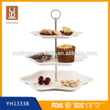 hot sale cake stand with handle