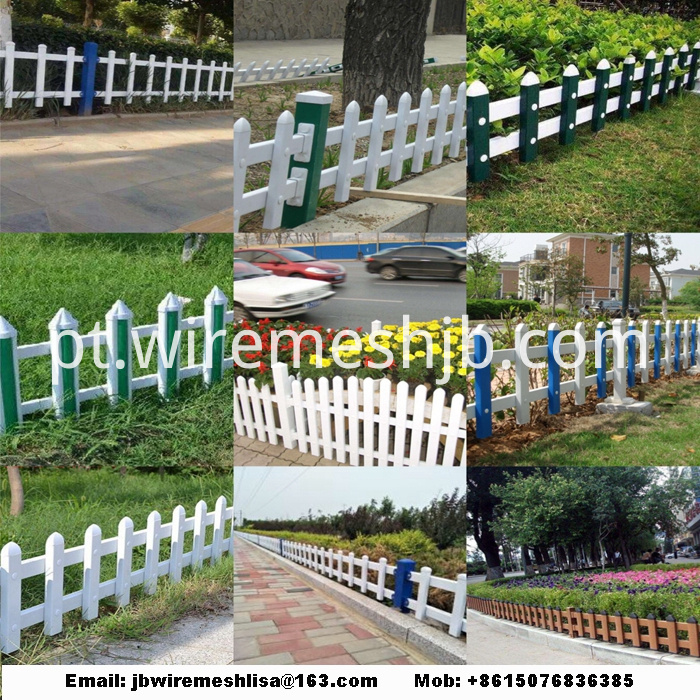 Powder Coated Lawn Fence/ Garden Steel Fence