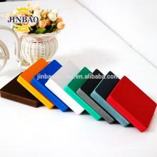 JINBAO factory supply hard celuka black forex plastic foam pvc sheet