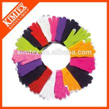 Großhandelsgewohnheit Art und Weise knit Handschuh