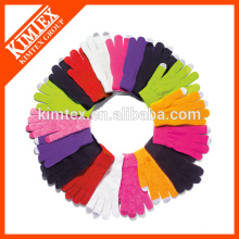 Wholesale custom fashion knit glove