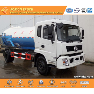 Dongfeng Vacuum suction tank truck cheap price