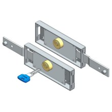 Dimple Key Roller Shutter Lock Set