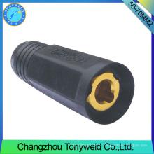 Tortilha de soldagem serie tig 50-70mm2 solda conector de cabo fêmea
