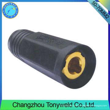 сварочные горелки TIG серии 50-70мм2 сварочные женский кабель разъем
