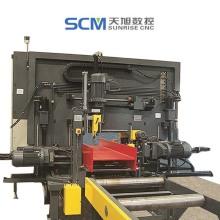 CNC-Bohrmaschine mit Stahlträgerkanal