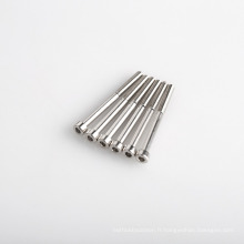 Vis à tête hexagonale adaptées aux besoins du client de boulon de perçage d'individu de l'acier inoxydable M3x50mm