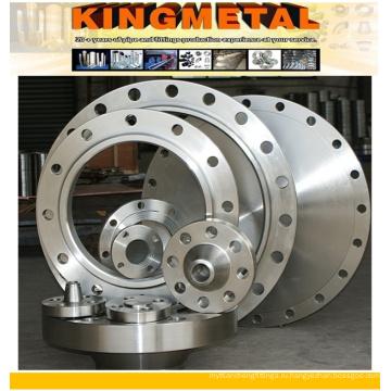 Стандарт ASTM А182 F51/53 большого диаметра Двухшпиндельный Фланец нержавеющей стали