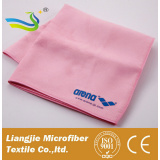 China supplier personalized antibacterial microfiber suede towel