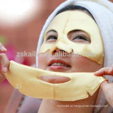 Máscara de cristal collgen anti-envelhecimento donna bella máscara de ouro 24k