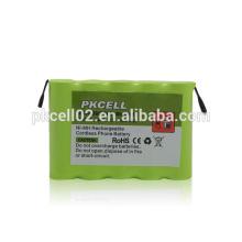 PKCELL PK-0092 AA700mAh 6V NiMH Schnurlostelefon Akku für Sinus 11