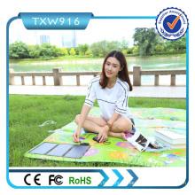 2 Portas USB 15W Carregador Solar Mat para Picnic