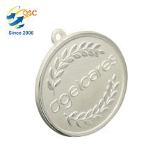 Medalha feita sob encomenda feita sob encomenda da moeda do metal da liga antiga do zinco do ouro 3D