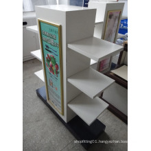 SGS ISO MDF Wooden Retail Display Rack
