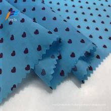 Commerce de gros 100% polyester taffetas 170T tissu de manteau d'impression