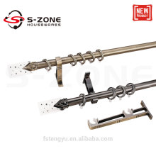 high quality classic curtain rods for china home decor wholesale