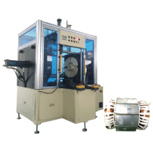 Big Power Long Stack Length Pump Stator Horizontal Type Coil Final Forming Machine