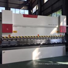 Machine à cintrer en aluminium WC67Y machines à cintrer les métaux cnc