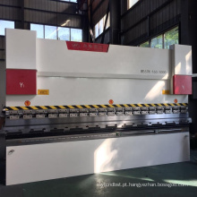 Máquina de dobra de alumínio WC67Y maquinaria de dobra de metal cnc