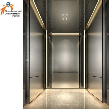 Stainless Steel Vvvf Machine Room Residential Elevator
