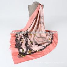 Cheap xales quadrados de seda e cachecóis na fábrica China
