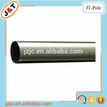 Billig Preis Dusche 400cm Vorhang Pole Spannstange Edelstahl Nickel, magnetische Twisted Messing Pole