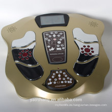 Electrical massage apparatus foot massager with EMS treatment