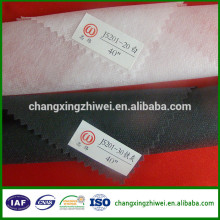 black,white,gary colored nonwoven interlining export from china to pakistan, turkey,bangladesh,