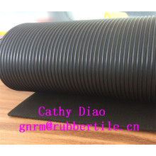 Cloth Insertion Rubber Sheet, Color Industrial Rubber Sheet, Anti-Abrasive Rubber Sheet Rib Rubber Sheet