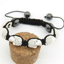 Shamballa Skull Bracelet Fashion Make Crystal Bracelet