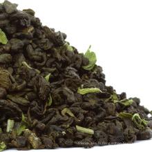 Thé chinois de menthe fraîche de thé de poudre à la menthe fraîche mélangée par thé d'OEM chinois / thé vert marocain
