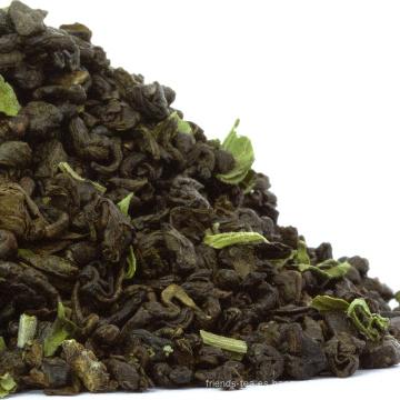 OEM Chino Mejor Mezclado de Menta fresca de Hierbabuena Tea Té de Menta Marroquí / Té Verde Marroquí