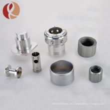 CNC hecho a medida mecanizado TC4 gr5 repuestos de titanio para el motor