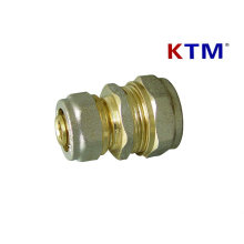 Brass Pipe Fitting - Reducing Straight Connector - Water and Gas Pipe Fittings