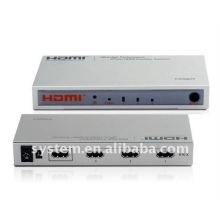 Intelligente Hochleistungs-3Ports HDMI Verstärker Switcher