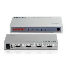 Interrupteur amplificateur HDMI haute performance 3Ports HDMI