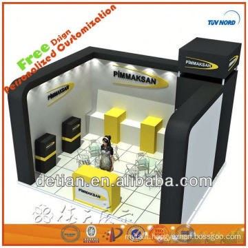 Booth exhibit stand small light stand carpet exhibition for trade show display fair exhibit in China