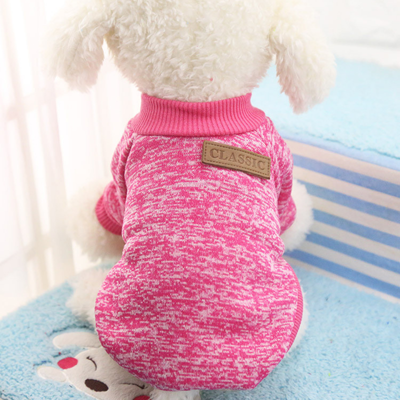 Dog Clothes For Small Dogs Soft Pet Dog Sweater Clothing For Dog Summer Chihuahua Clothes Classic