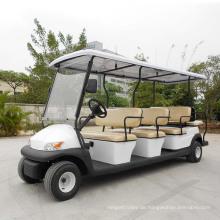Ce genehmigen 11 Seater Electric Sightseeing Auto für Flughafen
