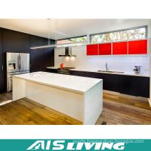 Melamine Modular Wooden Kitchen Cabinets Furniture (AIS-K367)