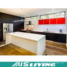 Mobília de madeira modular dos armários de cozinha da melamina (AIS-K367)